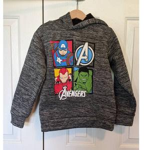 Marvel Avengers hooded sweatshirt hoodie Size 6